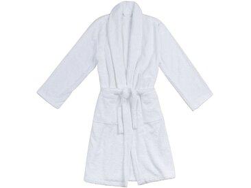 Peignoir en coton L/XL blanc - alinea