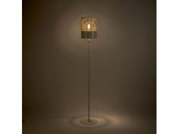 Lampadaire en métal blanc H148cm Alinéa