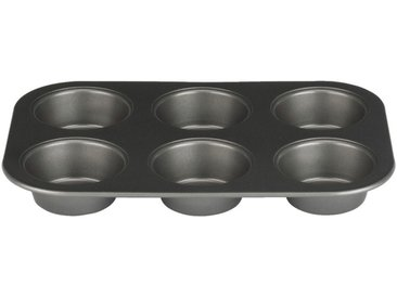 Plaque de 6 muffins en acier carbone 26cm - alinea