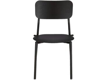 Chaise de jardin en aluminium - noir - alinea