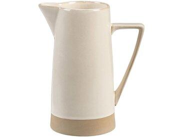 Pichet en grès - blanc - 1,6L - alinea