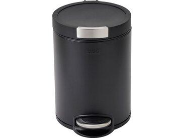 Poubelle À Pédale En Inox - Noir 12l - alinea