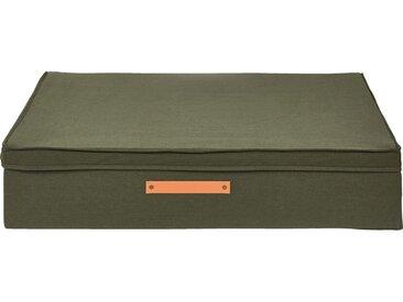 Housse De Rangement En Polycoton - Vert Cèdre H17,5xl50cm - alinea