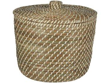 Panier à linge en jonc naturel D39xH30cm - alinea