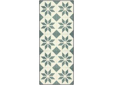 Tapis de cuisine carreaux de ciment 50x120cm en vinyle Alinéa
