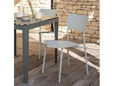 Chaise de jardin en aluminium - vert olivier - alinea