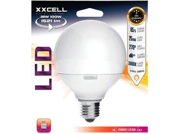 Ampoule LED D12cm blanc chaud culot E27 Alinéa