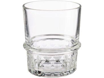 Lot de 6 gobelets en verre transparent 38cl (prix unitaire : 4.0 euros) - alinea