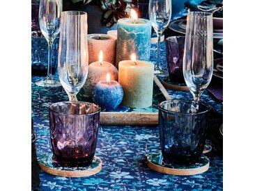 Lot de 6 flûtes à champagne en cristallin transparent 19cl - alinea