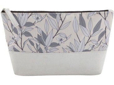 Trousse de toilette motifs fleurs d'oranger - alinea