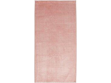 Descente de lit imitation fourrure rose poudré 60x120cm Alinéa