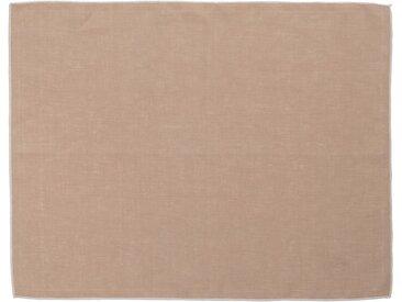 Lot de 2 sets de table en lin et coton rose argile 36x48cm (prix unitaire : 6.0 euros) - alinea