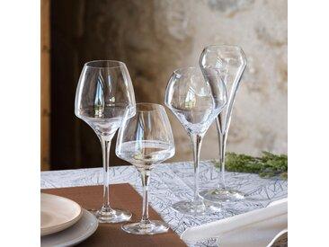 Lot de 6 flûte à champagne en kwarx 20cl (prix unitaire : 8.0 euros) Alinéa