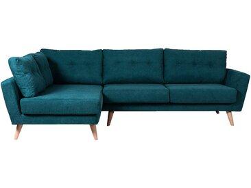 Canapé d'angle fixe gauche en tissu vert Alinéa