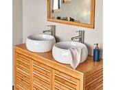 Top double pour meuble sous-vasque 120cm - alinea