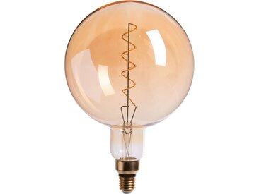 Ampoule Décorative Led Géante Ambre D20cm Culot E27 - alinea