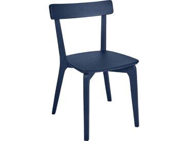 Lot de 2 chaise en bois - bleu myrte (prix unitaire : 79.0 euros) - alinea