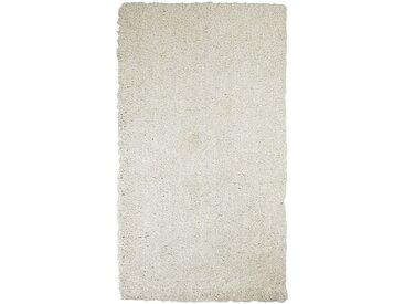 Descente de lit shaggy beige roucas 60x110cm - alinea