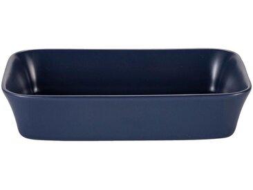 Plat à four rectangulaire en grès bleu myrte 26x18cm - alinea