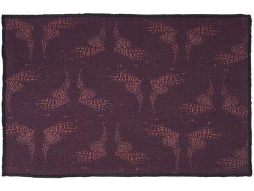 Lot de 2 sets de table en lin et coton violet 30x45cm (prix unitaire : 4.0 euros) - alinea