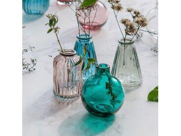 Vase en verre vert olivier H10 cm Alinéa