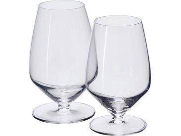 Lot de 4 verre à pied en cristallin 35cl (prix unitaire : 5.0 euros) - alinea