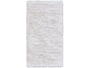 Tapis imitation fourrure - blanc 60x110cm - alinea