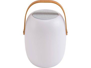 Lampe Et Enceinte Nomade Extérieur -  Blanc D21xh32cm - alinea