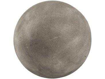 Boule décorative d'extérieur en résine grise D26cm - alinea