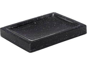 Porte-savon noir pailleté Alinéa