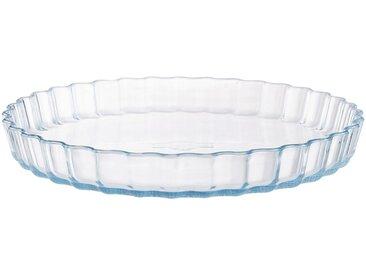 Moule à tarte en verre borosilicate D27cm - alinea