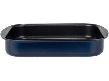 Plat à four rectangulaire en aluminium bleu myrte 20x25cm - alinea