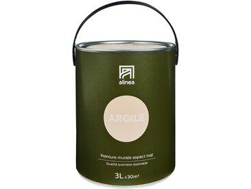 Peinture acrylique mate multi-supports 3L rose argile Alinéa