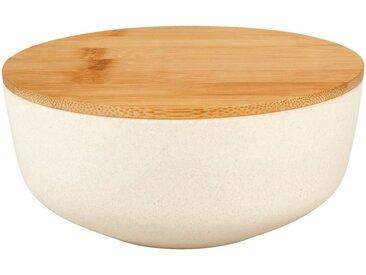 Saladier en fibre de bambou blanc D15,2cm - alinea