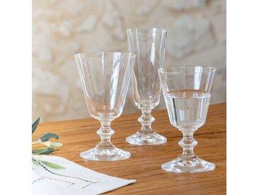 Lot de 6 verre à vin en cristallin 19cl (prix unitaire : 4.0 euros) - alinea