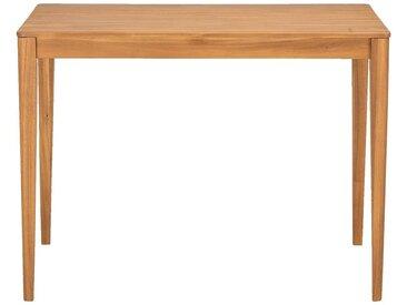 Table haute rectangulaire en acacia - L120xP70xH90cm - alinea