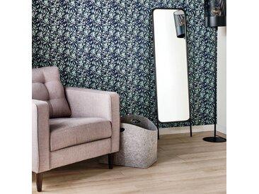 Miroir sur pied en métal - noir H140,5cm - alinea