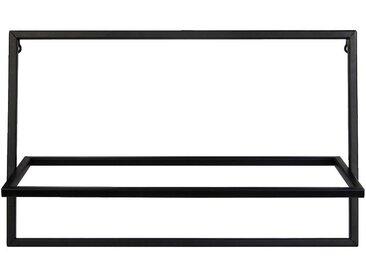 Porte-plante en métal noir L54xH34cm - alinea