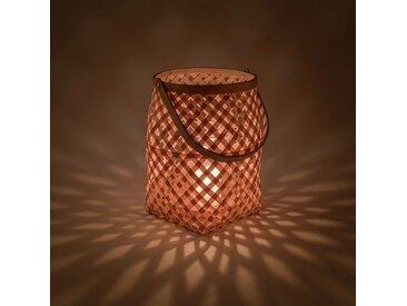 Lanterne bambou naturel D22xH30cm - alinea
