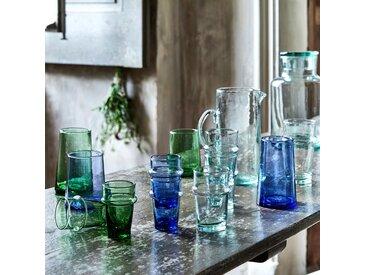 Carafe en verre recyclé avec anse 1.1L - alinea
