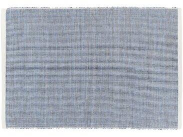 Lot de 2 sets de table en coton bleu 45x35cm (prix unitaire : 5.0 euros) - alinea