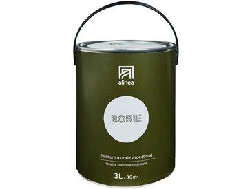 Peinture acrylique mate multi-supports 3L gris borie Alinéa