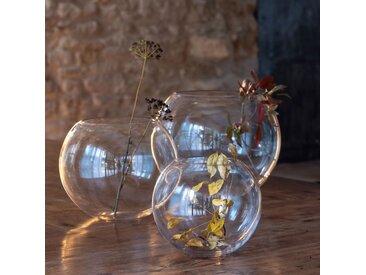Vase boule transparent D30cm Alinéa
