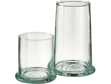 Lot de 6 verre transparent en verre recyclé 30cl (prix unitaire : 4.0 euros) - alinea