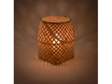 Lanterne bambou naturel D18xH23 - alinea