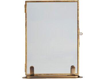 Cadre photo en métal doré 13x18cm - alinea