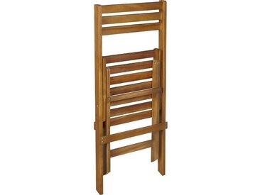 Chaise de jardin pliante en acacia - alinea