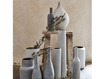 Vase avec couvercle effet béton H42cm Alinéa