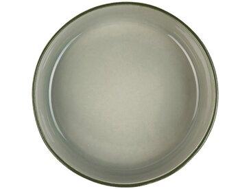 Saladier en faïence vert olivier D24cm - alinea