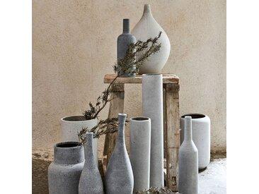 Vase effet béton H30cm Alinéa